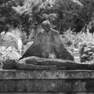 Im Melaten Friedhof in Köln