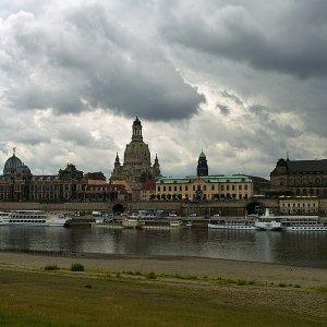 Dresden vor den Regen