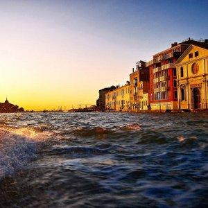 Venedig im Sonnenuntergang