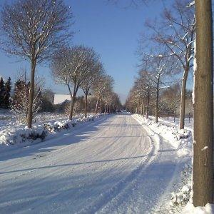 Dinslaken im Schnee