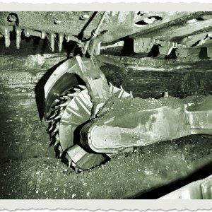 Schrämwalze(Kohlen-Gewinnungsmaschine)