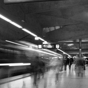 Stress in der U-Bahn
