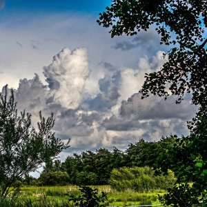 Himmel über St. Peter-Ording