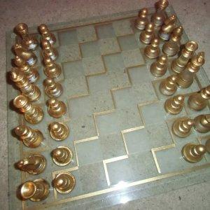 gold schachbrett