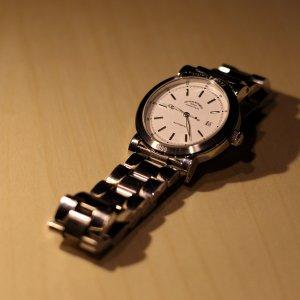Makro einer Uhr