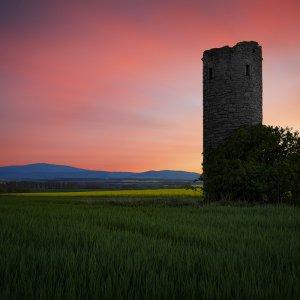 Drohne Turm bei Osterwieck