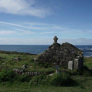 Ruine am Cape Cornwall