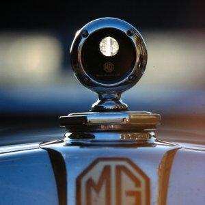 Bei Schloß Norkirchen entdeckt: MG TD