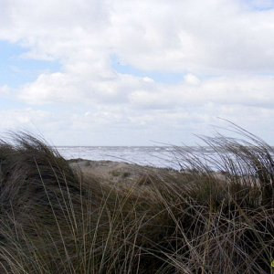 Sturm über der Nordsee