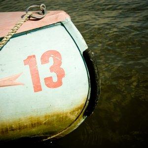 Ein Kanu aus den 60'gern