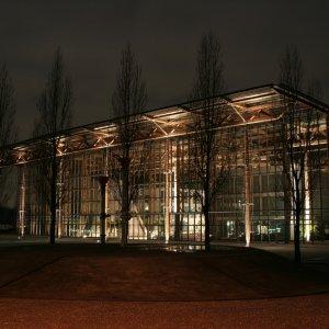 Akademie Mont-Cenis Herne bei Nacht