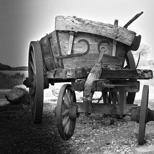 Der alte Wagen