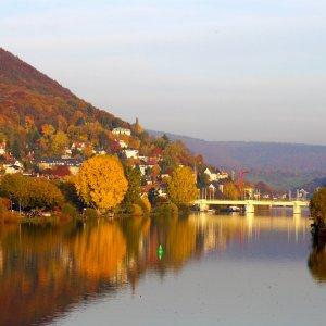 Heidelberg von der Neckarbrücke