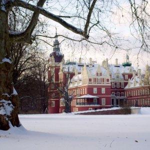 Schloßpark im Winterkleid