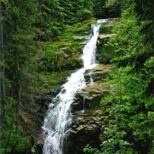 Wasserfall in Polen