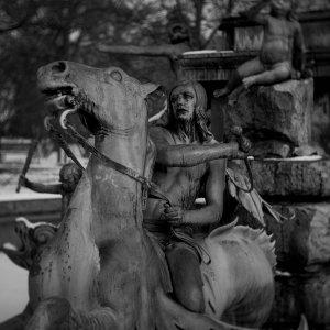 Der Neptunbrunnen im Stadtpark von Nürnberg