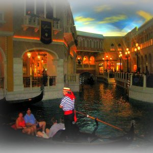 Nein, nicht Venedig - Las Vegas USA