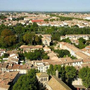 Teilansichten von Carcassonne/Frankreich