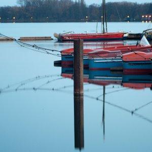 Bootsanleger am Maschsee