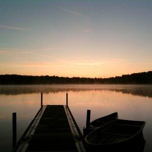 Dreezsee bei Sonnenaufgang