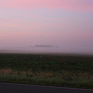 Sonnenaufgang im Frühherbst