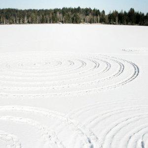 * Der zugefrorene See und seine Kreise *