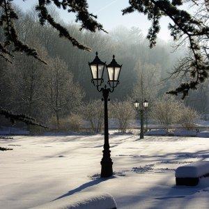 Laternen im Park