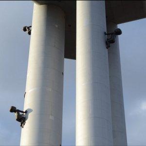 Babies auf dem Turm