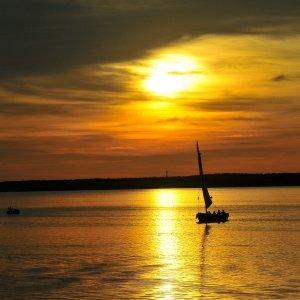 Sonnenuntergang am Steinhuder Meer 01