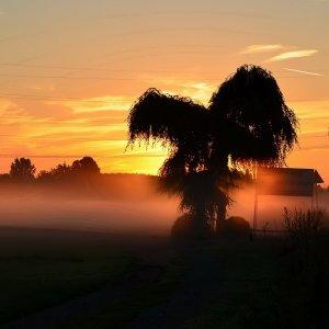Sonnenaufgang in Waltrop
