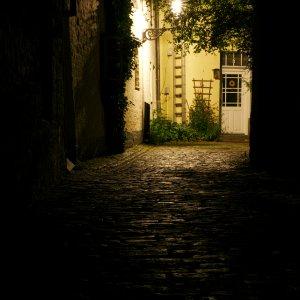 Lübeck im dunkeln.......