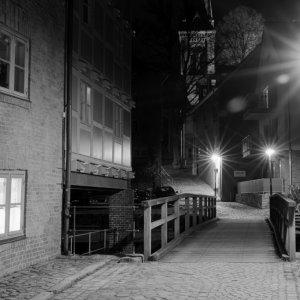 Bad Oldesloe bei Nacht......