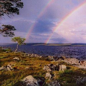 Ein Topf voller Gold läge am Ende des Regenbogens vergraben...