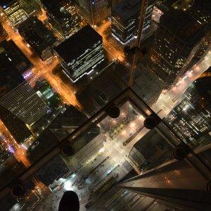 Willis Tower Chicago bei Nacht