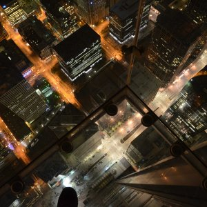 Willis Tower Chicago bei Nacht