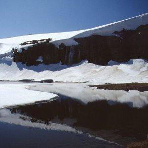 Schnee, Eis, Fels und Wasser