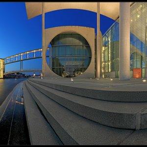 Berlin Panoramen an der Spree