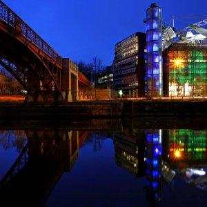 Berlin - Impressionen zur blauen Stunde