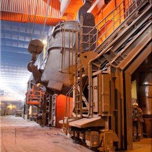 Eindrücke aus dem Stahlwerk