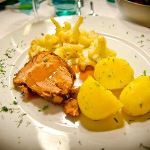Kochen und Essen mit Freunden