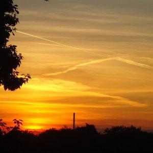 Himmel über Gelsenkirchen...