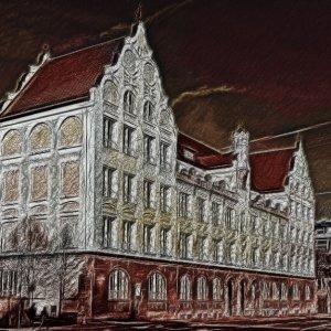Architektur verfremdet