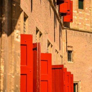 rote Fensterläden, Middelburg