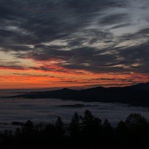 Ein Morgengruß aus den Bergen des Salzkammerguts