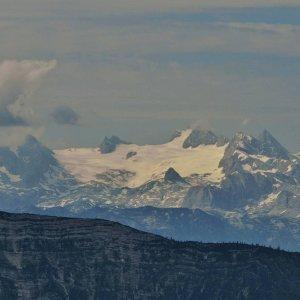 Der Dachstein-Gletscher auf 2995m.